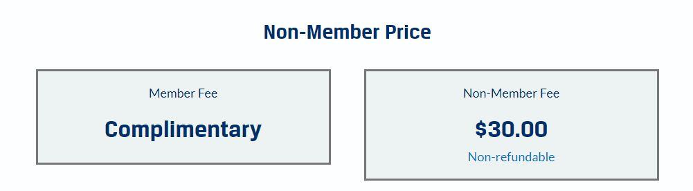 CFA Registration Fees