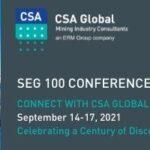 SEG 100 Conference 2021