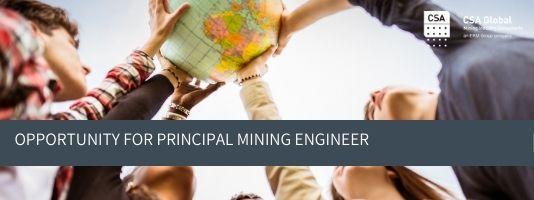 Principal Mining Engineer