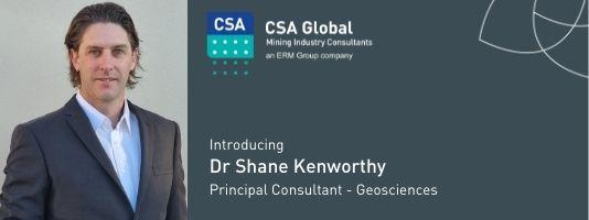 Dr Shane Kenworthy - Principal Consultant - Geosciences