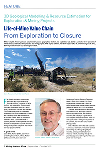 Life-of-Mine Value Chain, From Exploration to Closure